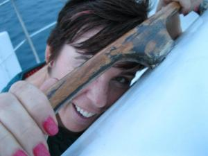 My Sweet Baby.  On a boat.  In the Caribbean. I feel better now.