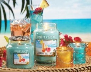 Like actual summertime, many Yankee Candles apparently smell like booze.  Awesome!