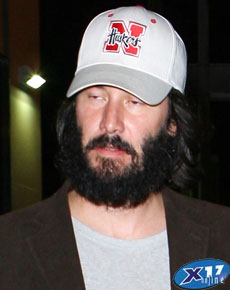 In fairness, it was almost impossible to find an unflattering pic of Keanu.