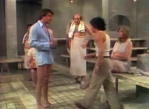 I think this is from the actual show, and I'm pretty sure that's Bill Bixby.