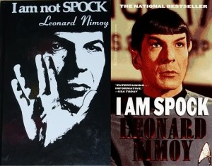 Although perhaps he COULD make up his Vulcan mind...