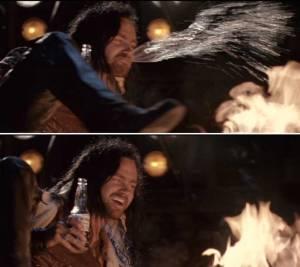 KICK THAT FIRE, ROSIE!  YEAH!  KICK IT!  KICK IT AGAIN!
